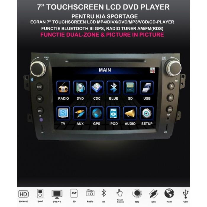 DVD MULTIMEDIA GPS SX4 NAVIGATIE BLUETOOTH