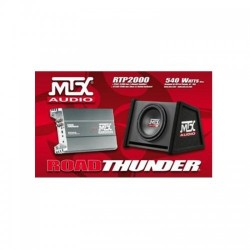 Pachet subwoofer si amplificator MTX RTP 2000 RMS: 250W 4 Ohm