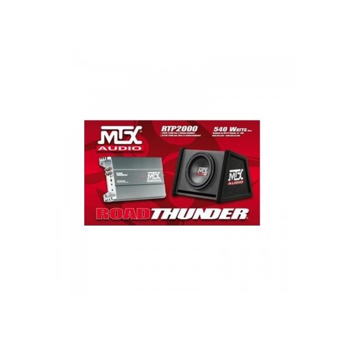 Pachet subwoofer si amplificator MTX RTP2000