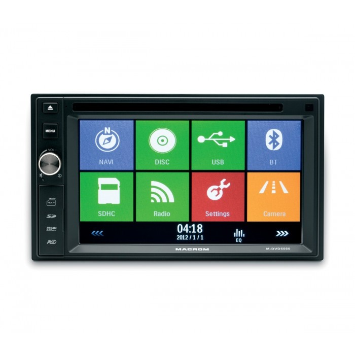 DVD Player Macrom M-DVD 5560 Navigatie, Bluetooth