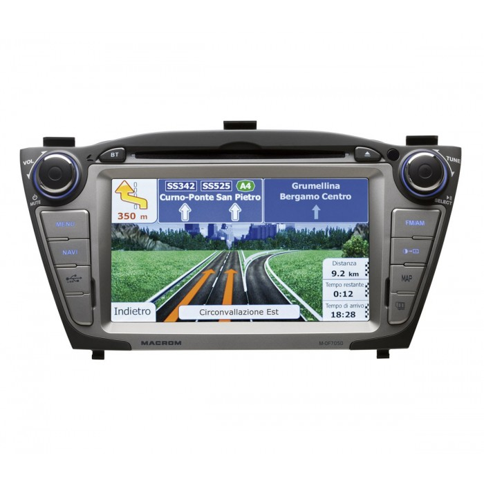 Unitate multimedia M-OF7050 Dedicat Hyundai ix35