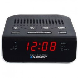 Radio cu ceas Blaupunkt CR5WH, Negru