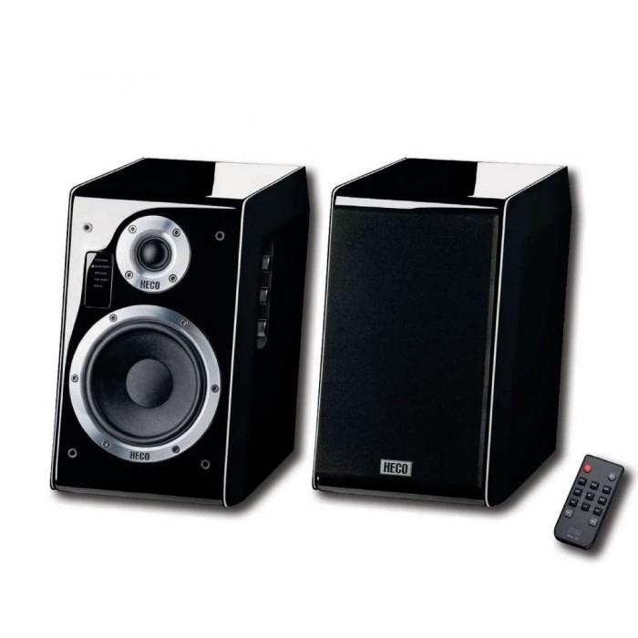 Ascada 2.0 BTX Boxa Heco activa stereo cu subwoofer negru
