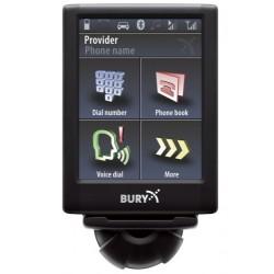 Car Kit Bury CC 9068 - Comanda vocala Bluetooth Ecran touchscreen detasabil Incarcare telefon mobil