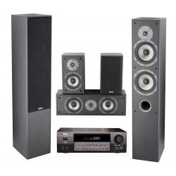 Sistem Audio 5.0 Akai AS110RA-320 + Sistem Boxe SS016A-655MK 135W RMS, Negru
