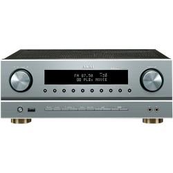 Amplificator Akai AS005RA-750B, 375W RMS, Argintiu