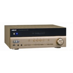 Amplificator Akai AS030RA-780B, 5.1, 375W RMS, Auriu