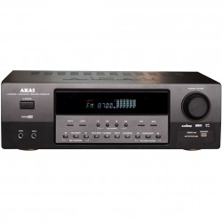 Amplificator Akai AS110RA-320, 5.1, 90W RMS, Negru
