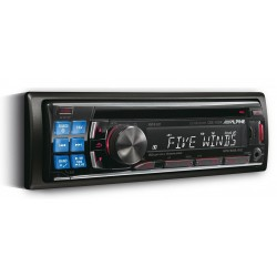 CD Player auto Alpine CDE-123R