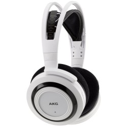 Casti audio AKG K935, Wireless, tip DJ, White