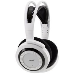 Casti audio AKG K935, Wireless, tip DJ, White