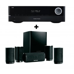Sistem 5.1 Home Cinema Harman/Kardon HKTS 9 + Receiver Harman / Kardon AVR 171