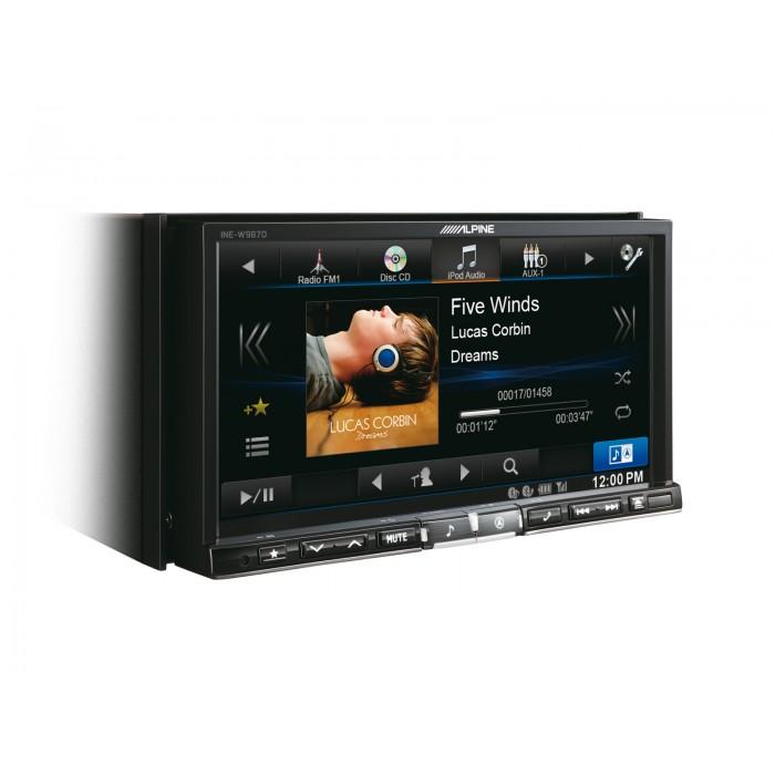 Unitate Multimedia Alpine INE-W987D cu navigatie integrata