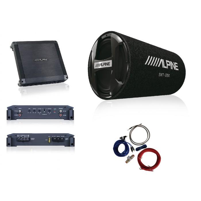 Pachet tub Alpine SWT-12S4 + BBX-T600 + 350940