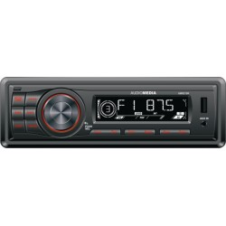 Player auto AMR215R AUDIOMEDIA FM / USB / SD fata detasabila 1 DIN