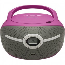 Microsistem audio Blaupunkt Boombox BB6VL, CD Player, USB, AUX, 2X1.2W, Violet