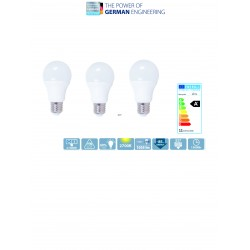 Bec LED Blaupunkt A60 E27 11W 2700K pachet 3 buc.