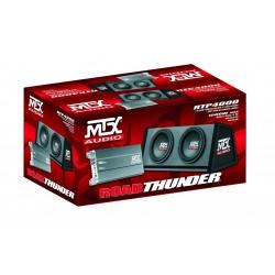 Pachet subwoofer si amplificator MTX RTP4000